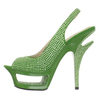 Pleaser Day & Night Women's 'DELUXE-654RS' Cut-Out Platform Heels