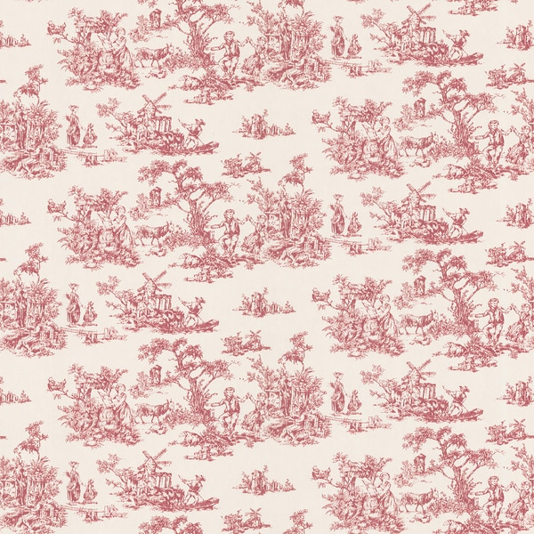 brewster red inviting toile wallpaper free shipping on