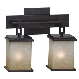Abriella 2-light Oil Rubbed Bronze Vanity