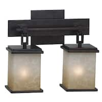 Oliver & James Hans 2-light Oil Rubbed Bronze Vanity
