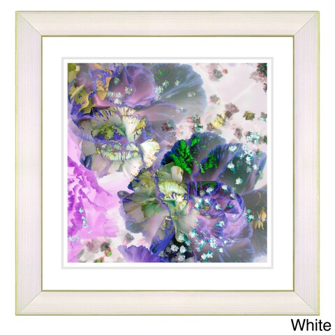 Studio Works Modern 'Scented Bloom - Berries n Cream' Framed Art Print
