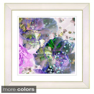 Studio Works Modern 'Scented Bloom - Berries n Cream' Framed Art Print (2 options available)