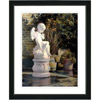 Studio Works Modern 'Garden Angel' Framed Art Print