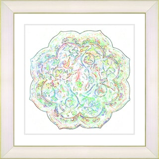 Studio Works Modern 'Platos - Alabaster Mint' Framed Art Print
