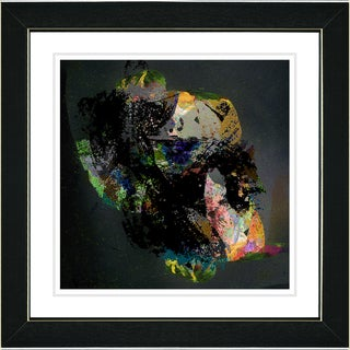 Studio Works Modern 'Voice of Zeus - Yellow' Framed Art Print