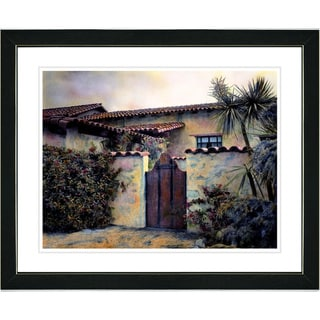 Studio Works Modern 'Hacienda' Framed Art Print