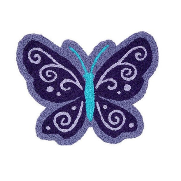 NoJo Beautiful Butterfly Nursery Rug 23 X 110