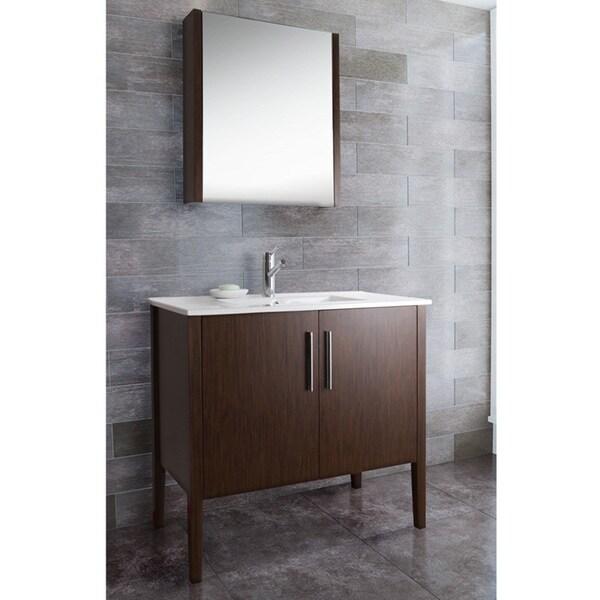 Vigo 36 Inch Maxine Single Bathroom Medicine Cabinet Vanity