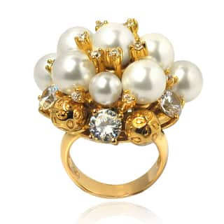 De Buman 14k Gold Overlay Faux Pearl and Cubic Zirconia Ring https://ak1.ostkcdn.com/images/products/8117191/8117191/De-Buman-14k-Gold-Overlay-Faux-Pearl-and-Cubic-Zirconia-Ring-P15464687.jpg?impolicy=medium