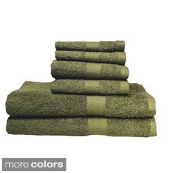 Baltic Linen Ringspun Cotton 6-piece Towel Set