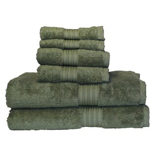 Majestic Egyptian Cotton 6-piece Towel Set (5 options available)