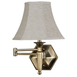 swing arm wall sconces u0026 vanity lights shop the best deals for sep - Swing Arm Lamp