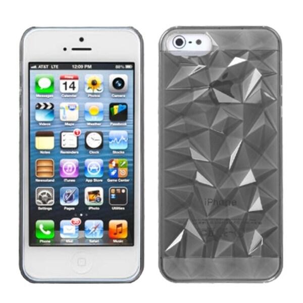 INSTEN T-Smoke Diamond Phone Case for Apple iPhone 5/ 5S/ SE