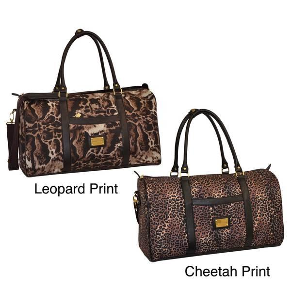 cb3628450b Shop Adrienne Vittadini 22-inch Carry-on Duffel Bag - Free Shipping ...