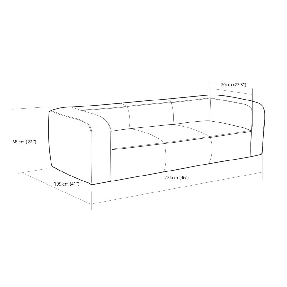 Tremendous Strick Bolton Diva Outback Bridle Italian Leather Sofa Customarchery Wood Chair Design Ideas Customarcherynet