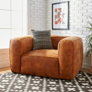 Stones & Stripes Diva Outback Bridle Leather Chair