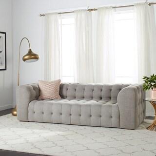 Havenside Home Sackville Nova Steel Linen Sofa