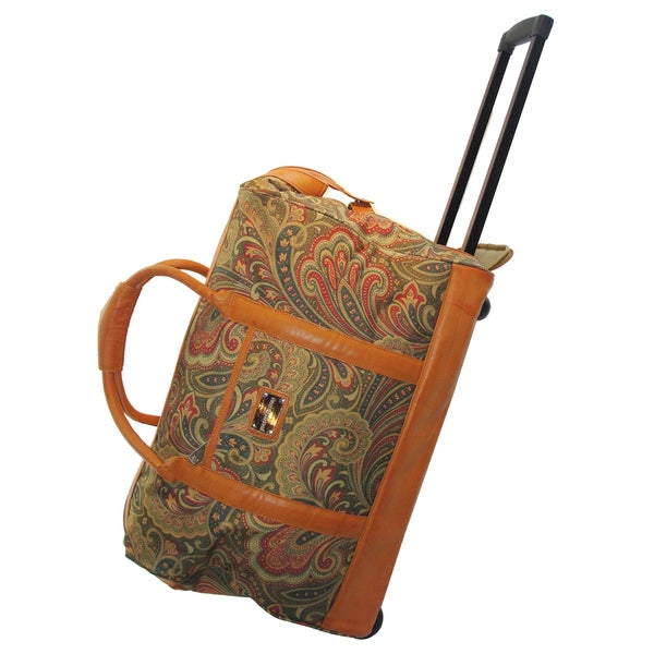 Shop Adrienne Vittadini Paisley 20 Inch Carry On Rolling