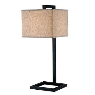 Ronson 1-light Oil Rubbed Bronze Table Lamp