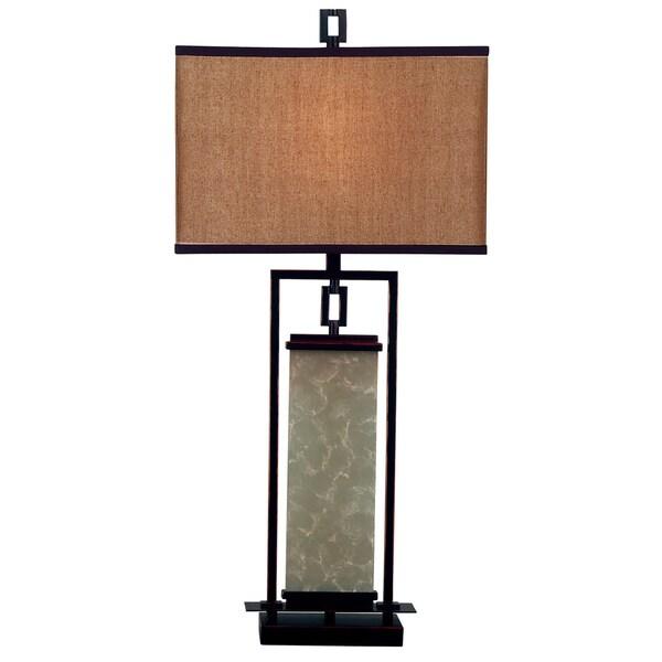 Abriella 1-light Oil Rubbed Bronze Table Lamp
