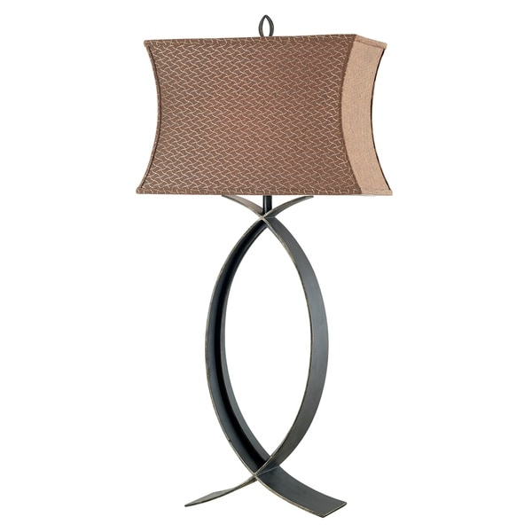 Tower 32-inch High With Bronze Finish Table Lamp