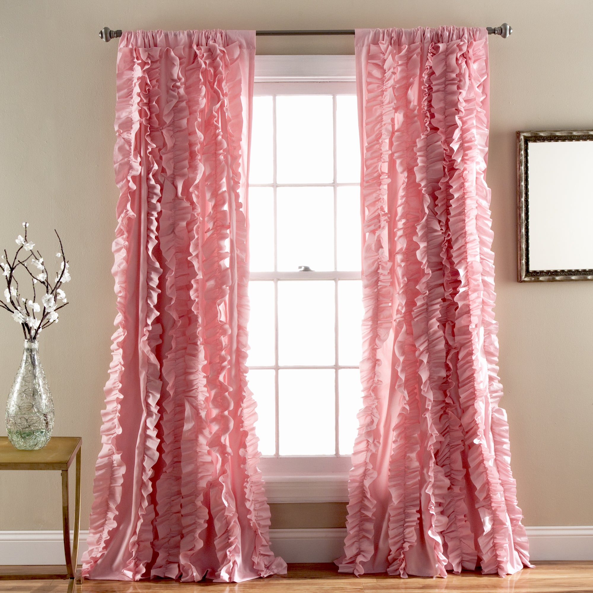 Lush Decor Belle 84-inch Curtain Panel - 54 x 84