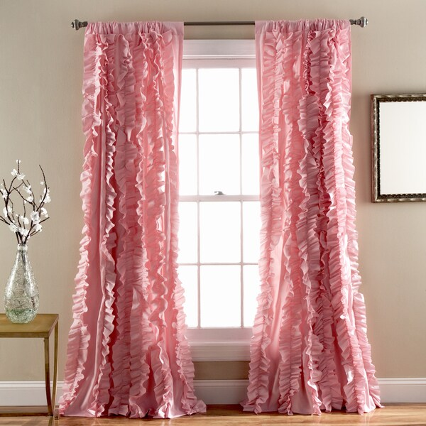 Lush Decor Belle 84 Inch Curtain Panel Free Shipping On