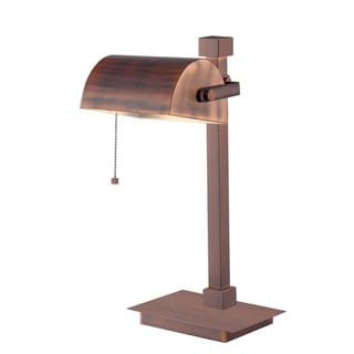 Yuma 16-inch High With Vintage Copper Finish Desk Lamp
