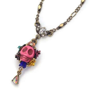 Sweet Romance Day of the Dead Sugar Skull Southwest Necklace