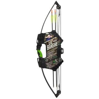 Barnett Lil' Banshee Camo Youth 18-pound Compound Bow Set