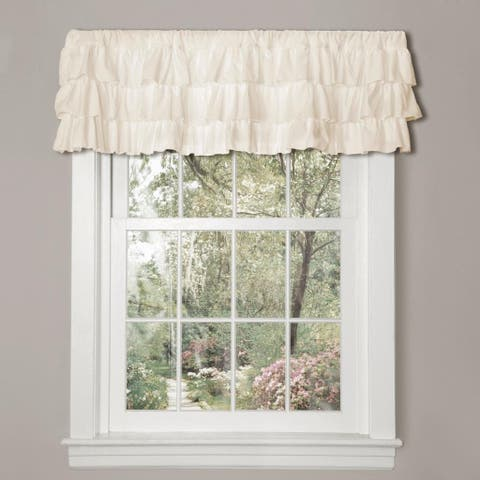 Gracewood Hollow Quist Ruffled Valance