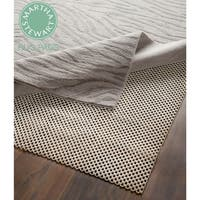 Martha Stewart Non-slip Hard Floor Rubber Rug Pad (Set of 2) - 3' x 5'