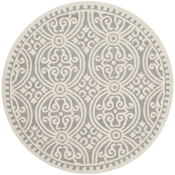 Shop Safavieh Handmade Cambridge Moroccan Silver Ivory