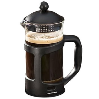 Ovente 12 oz. Black French Press and Coffee Maker