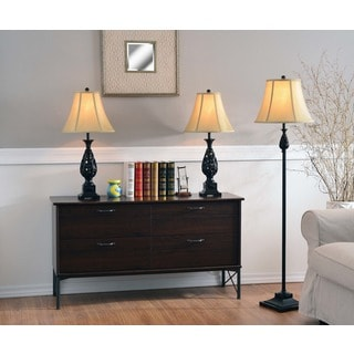 Bannock Table/ Floor Lamp 3-pack
