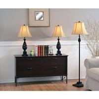 Bannock Table/ Floor Lamp 3-pack