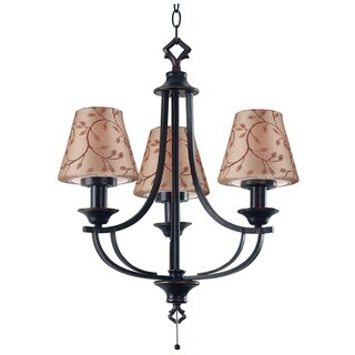 Weld Outdoor 3-light Chandelier