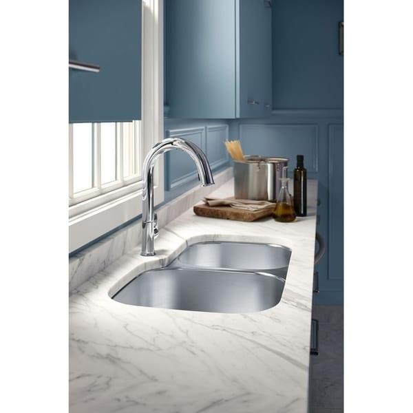 Shop Kohler K 72218 Sensate Touchless Kitchen Faucet With