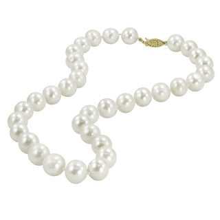 White Freshwater Pearl Necklace (11.5-12.5 mm)