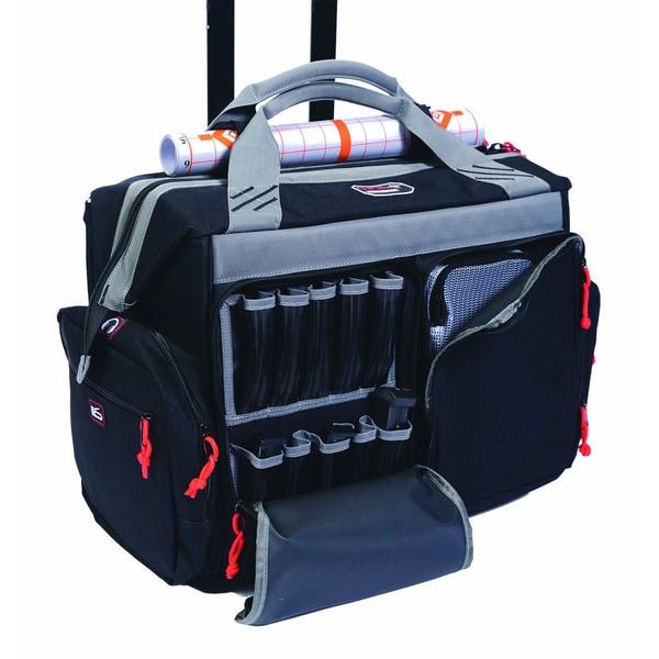G.P.S. Black Rolling Range Bag