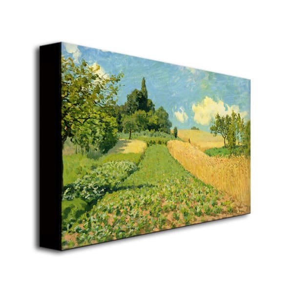Alfred Sisley The Cornfield Canvas Art Overstock 8119284