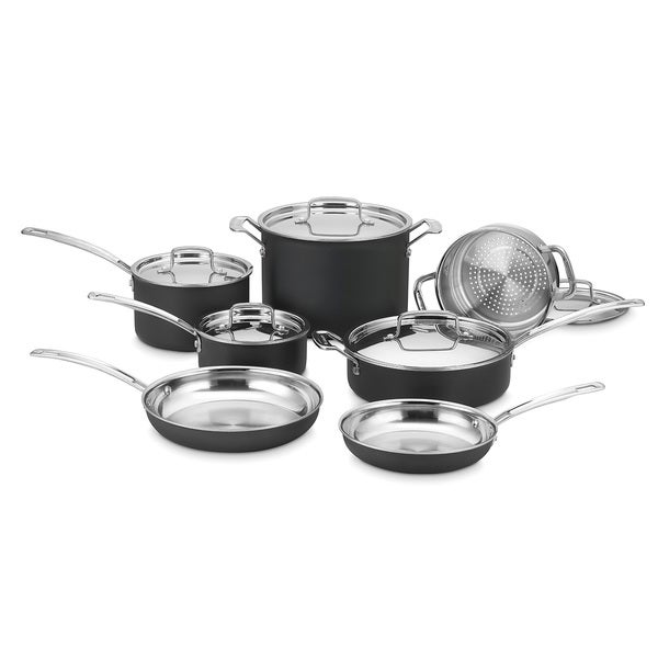 Cuisinart MultiClad Unlimited Dishwasher Safe 12-piece Cookware Set