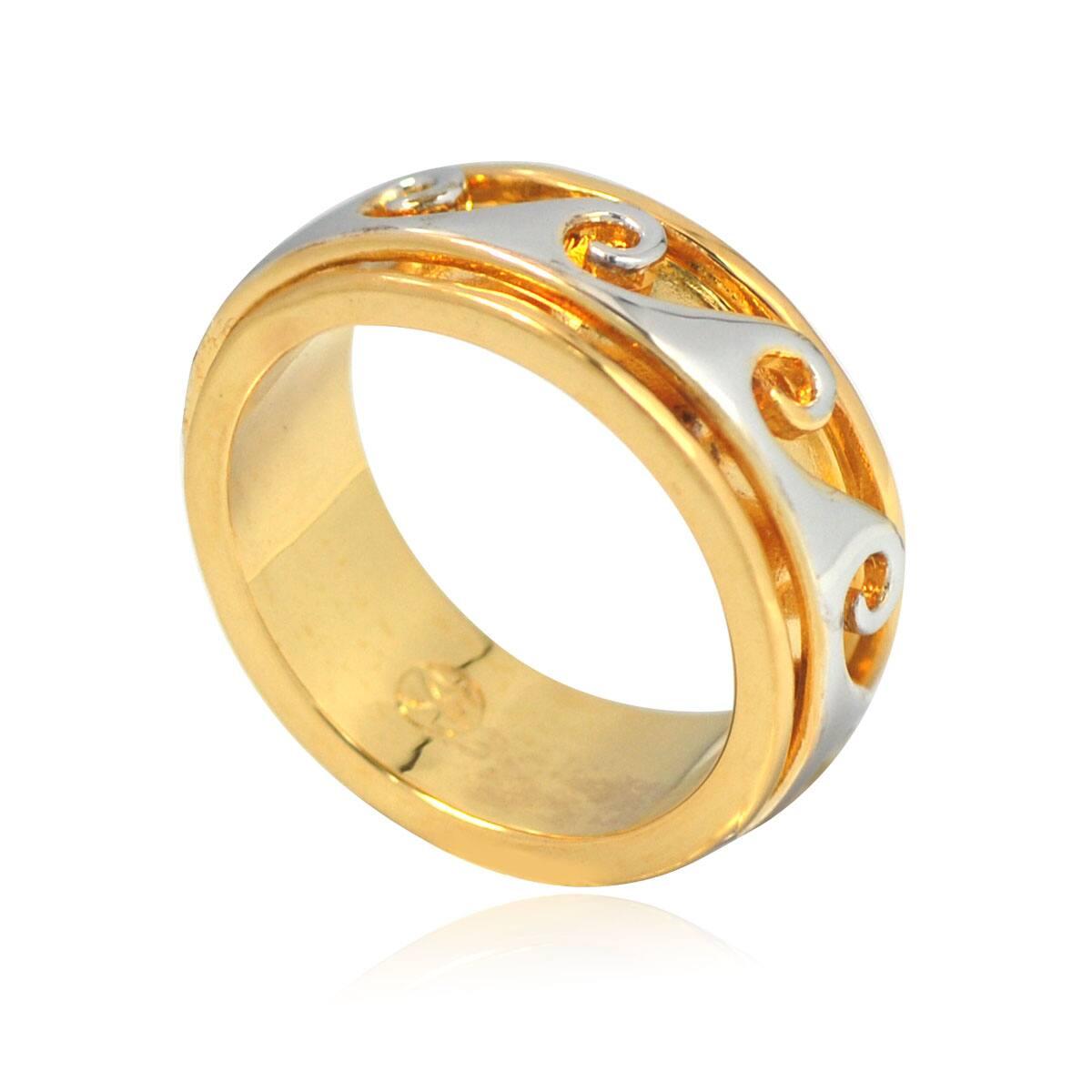 De Buman 14k Gold Overlay Men's Band|https://ak1.ostkcdn.com/images/products/8119521/82/460/De-Buman-14k-Gold-Overlay-Mens-Band-P15466582.jpg?impolicy=medium