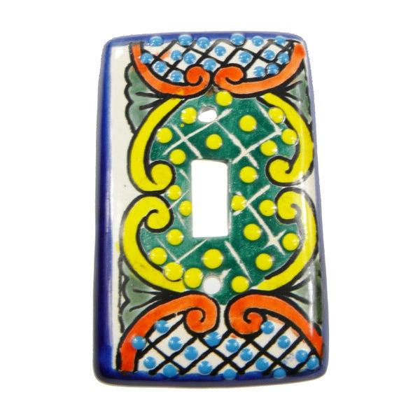 Talavera Handpainted Switch Plate (Mexico)