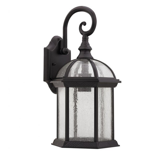 Chloe Transitional 1 light Dark Oil rubbed Bronze Outdoor