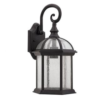 Chloe Transitional 1-light Dark Oil-rubbed Bronze Outdoor Lantern Fixture