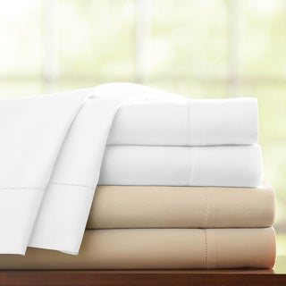 Pointehaven 1000 Thread Count Pima Cotton Sateen Extra Deep Pocket Sheet Set
