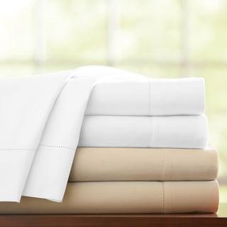Pointehaven 1000 Thread Count Pima Cotton Sateen Extra Deep Pocket Sheet Set