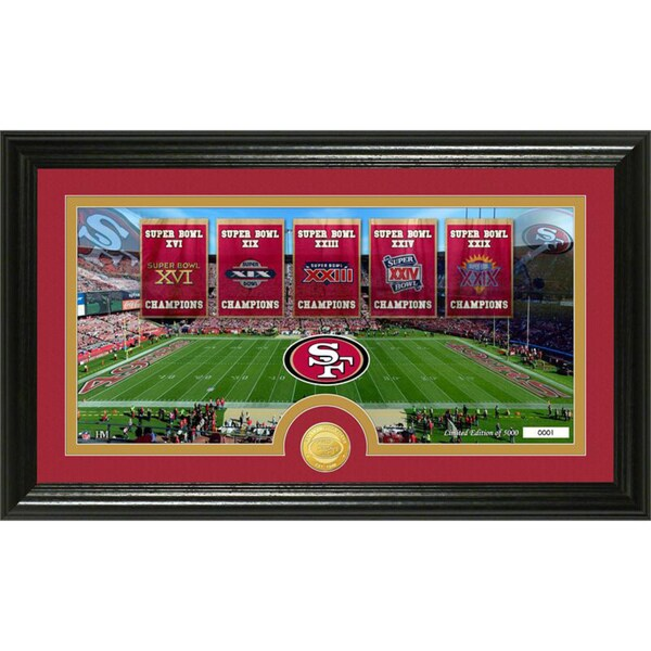 San Francisco 49ers 'Traditions' Panoramic Bronze Coin Photo Mint