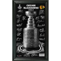 Chicago Blackhawks 2013 Stanley Cup Signature Pano